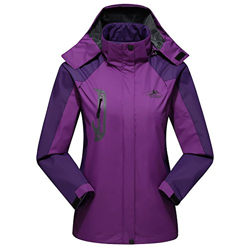 Insulated Tundra Jacket (Simmia Sport Outerwear Jacket Coat,Single-Layered Jackets for Men and Women, Thin and Windproof, Female deep Purple, XXXL)