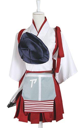 Seriously Cosplay 8 piece set] fleet collection Akagi costume Size S c283