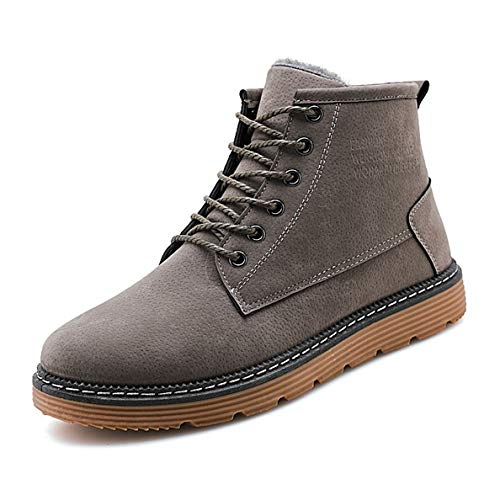 (GanQuan2018 Men's Snow Boot Lace-up Comfortable Fashion Winter Casual Shoes)