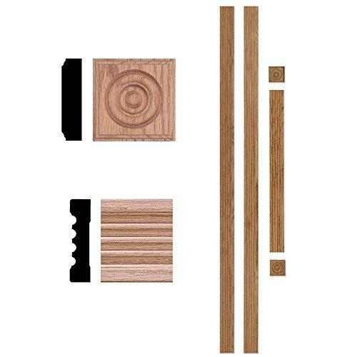 3/4 in. x 3 in. x 7 ft. Oak Door Trim Casing Set
