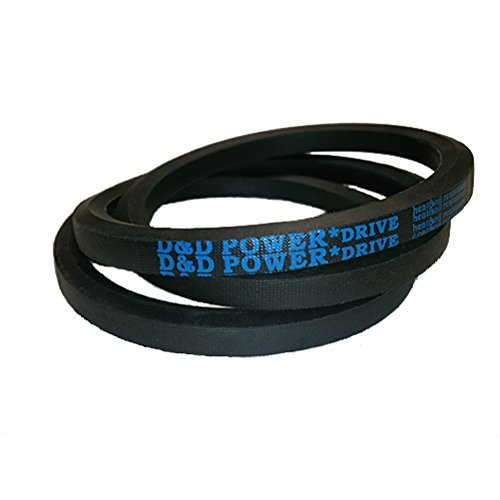D&D PowerDrive 1700345 Simplicity Manufacturing Replacement Belt, 1 Number of Band, Rubber