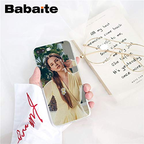 Inspired by Lana Del Rey Phone Case Compatible With Iphone 7 XR 6s Plus 6 X 8 9 Cases XS Max Clear Iphones Cases TPU- Tank- Sublime- Remix- Born- Born- 32964687408