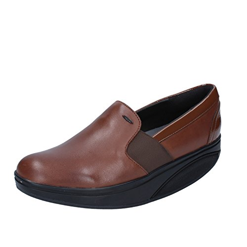 Marrón Shani para On Slip Mujer 103n Mocasines MBT Luxe zwdq0g0