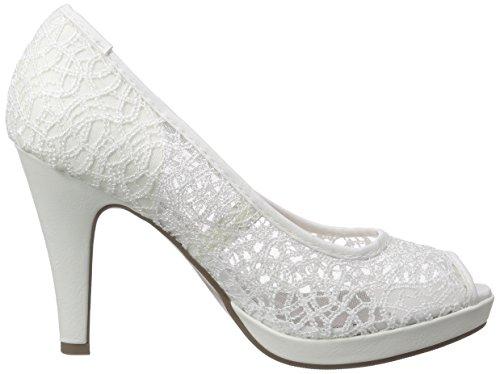 Bout Femme 293 109 161 KLAIN White Blanc Ouvert JANE Escarpins Weiß nBpqIaxwU