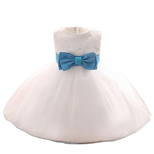 Vestido blanco de princesa