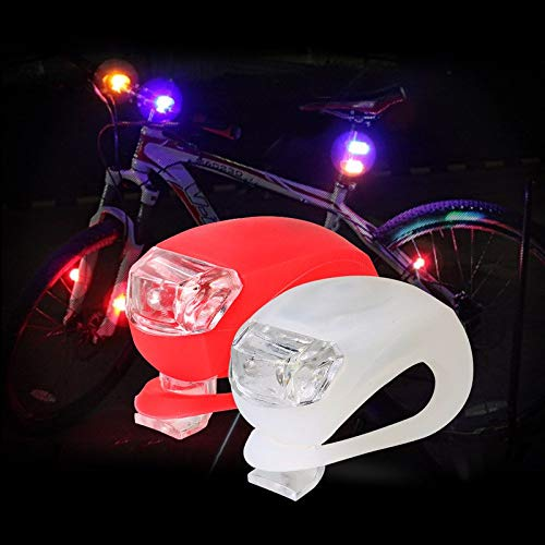 Bicycle Safety Blinker Warning LED Front Rear Light Combo