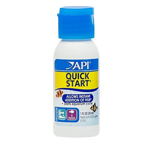 API QUICK START Freshwater and Saltwater Aquarium Nitrifying Bacteria 1-Ounce Bottle