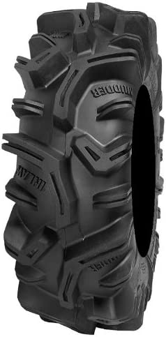 9 Items Bundle 4x156 Bolt Pattern 3//8x24 Lug Kit ITP Hurricane 14 Wheels Black 30 MudderInlaw Tires