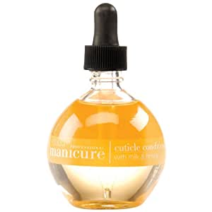 Cuccio Naturalé Milk & Honey Cuticle Revitalizing Oil - Lightweight Super-Penetrating - Nourish, Soothe & Moisturize - Paraben/Cruelty Free, w/ Natural Ingredients/Plant Based Preservatives - 2.5 oz