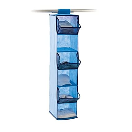 Neatfreak NeatKIDS 6 Shelf Mesh Closet Organizer, Blue