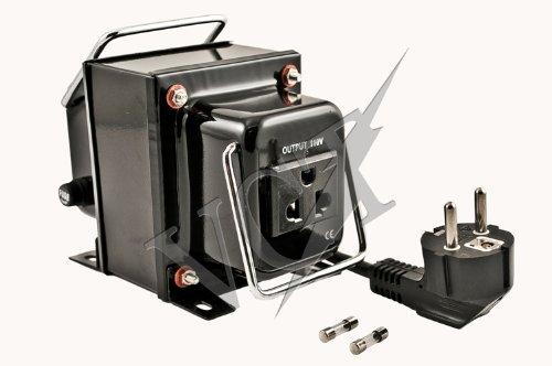 VCT VOD 4000 - CE Certified 4000 Watt Step Down Voltage Transformer Converter for AC 220V/240V to 110 Volt Built In Isolation Transformer