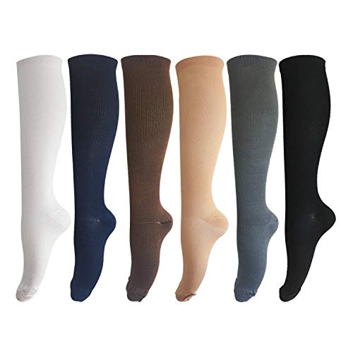 Compression Socks for Men and Women - Graduated Athletic Sports Medical Recovery Stockings for...