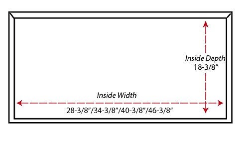 "30"" Castlewood Rustic Shiplap Chimney Range Hood - Brown (42-1/2"" H | 31"" W | 20-3/8"" D) (No Ventilator/Liner)"