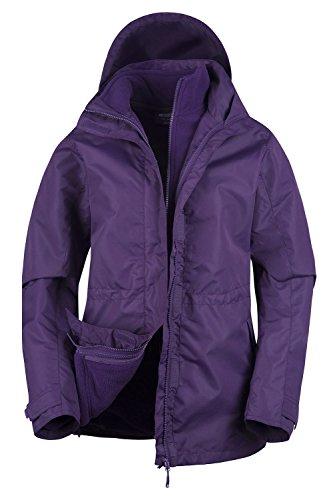 womens 3 in 1 rain jacket - 2