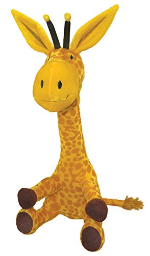 MerryMakers Steam Train, Dream Train Giraffe Toy, 14-Inch