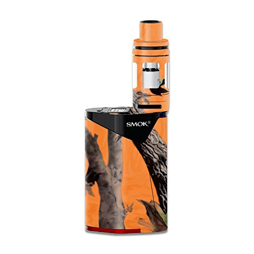 Price comparison product image Skin For Smok GX350 – Orange Camo | MightySkins Protective, Durable, and Unique Vinyl Decal wrap cover | Easy To Apply, Remove, and Change Styles | Made in the USA