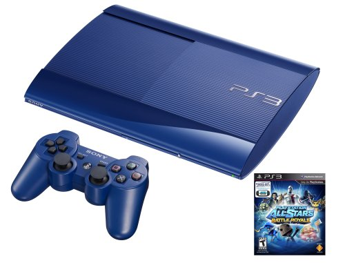 PS3 Azurite 250GB System with PlayStation All-Stars Battle Royale ()