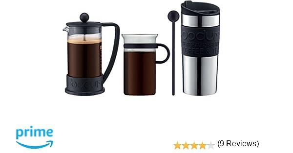 Bodum - K10948-01 - Coffe Set - Set de café - cafetera 3 ...