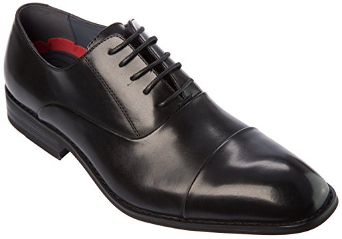 Nflorence Mens Lace-up Oxford Black Dress-Shoes Size 12 by Shoes Picker