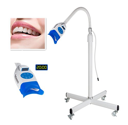 (Zorvo Mobile LED Dental Teeth Whitening Bleaching Light Lamp Machine Accelerator Teeth Whitening Light for iPhone, Android Oral Care)