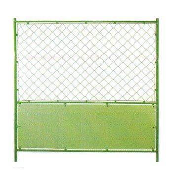 (2枚セット)フェンスバリケード 緑-無地 1800*1800 B008MTYM82 16200