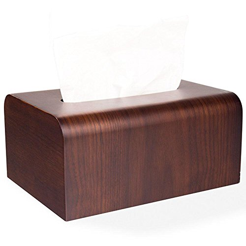 Creative Wooden Tissue Box Holder Cover for Home Office Car Decor by YANXH home (Image #5)