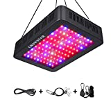 Growstar 1000W LED Grow Light, Double Chips Series Grow Lamp Full Spectrum for Hydroponic Indoor Plants Veg and Flower with UV IR and Daisy Chain(10w LEDs)