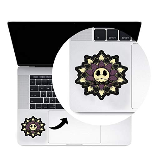 The Nightmare Before Christmas Trackpad Decal Sticker Laptop MacBook Compatible with All MacBook Pro, Clear Printed Decal Sticker Trackpad