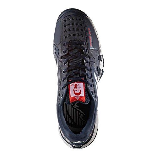 Adidas Novak Pro Heren Tennisschoen Marine / Wit / Rood