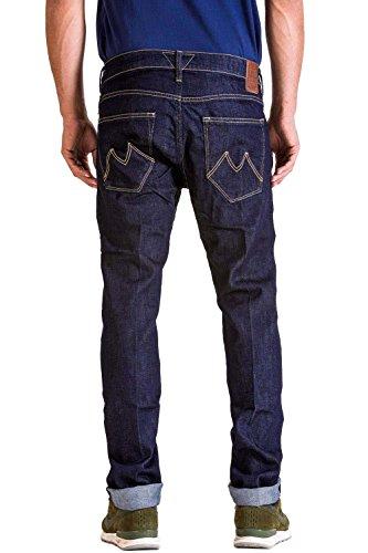 Dritta Meltin'pot Jeans Denim A Gamba Uomo Melton Blue w6qAI