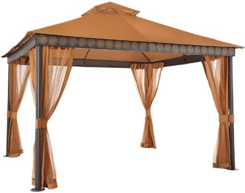 Garden Winds La Palma I and II Gazebo Replacement Canopy Top Cover