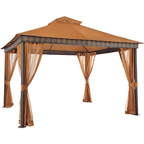 La Palma I and II Gazebo Replacement Canopy  sc 1 st  Amazon.com & Amazon.com : La Palma I and II Gazebo Replacement Canopy : Garden ...