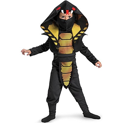 Cobra Ninja Boys Costume, 4-6 -