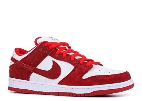 Nike Mens Dunk Low Premium SB Valentines Day Suede Skateboarding