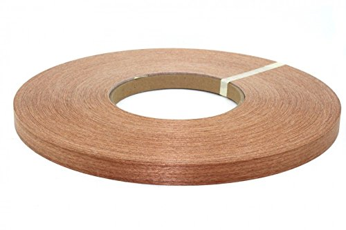 "sapele pre glued (1/2"" to 3''x250') wood veneer edge banding(1/2''x250') from Sapele Wood"