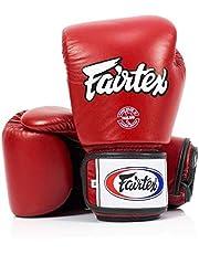 Fairtex Muay Thai Boxing Gloves Bgv1 Br Breathable Black Size: 10 Oz. Training Gloves For Kickboxing Mma K1