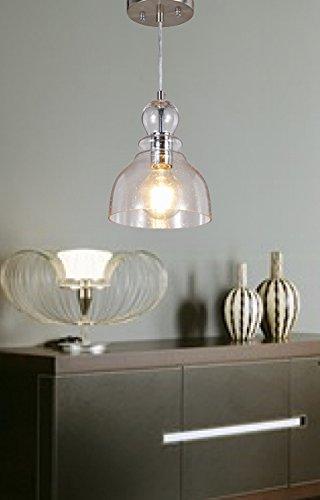 cottage style lighting fixtures. Central Park Industrial Vintage Glass Pendant Lamp, Edison Lighting, Cottage Style Light Fixture, Diameter 7 Inches Lighting Fixtures E