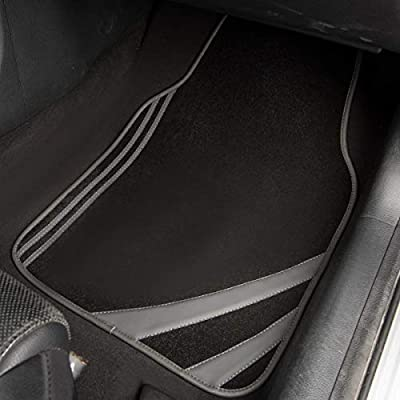 CAR PASS Liner Rider Universal Fit Car Floor Mats,Perfectly Fit sedans,Vans,suvs,Trucks (Gray): Automotive