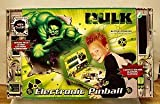 2003 Marvel Incredible Hulk Movie - Electronic Pinball Game - (Tabletop Size) with Lights and Sounds