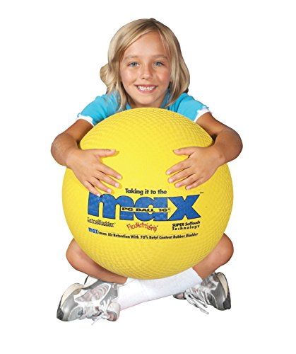 Sportime MegaMax Extra Large Playground Ball - 16 inches - Yellow