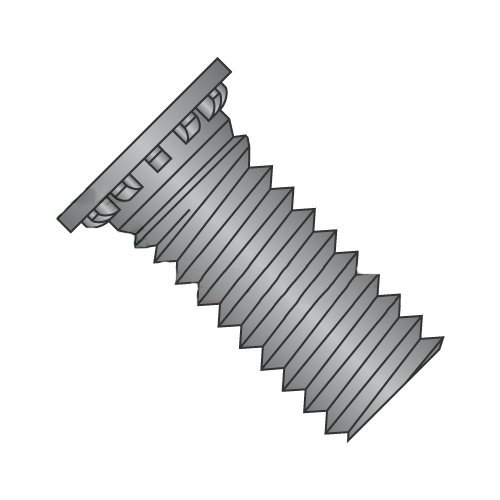 8-32 x 3/8'' Self Clinching Studs/Steel/Black Oxide (Carton: 10,000 pcs) by Newport Fasteners