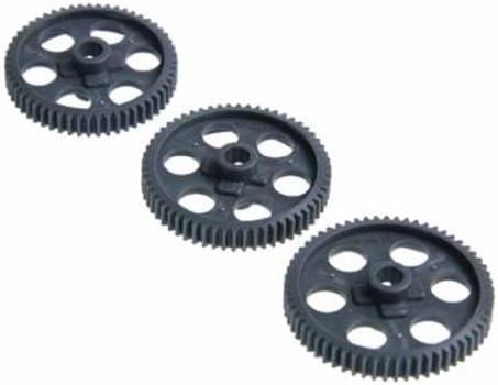 3 Tamiya TT-01 SP taper spur gear 55,58,61T 01E for 3629