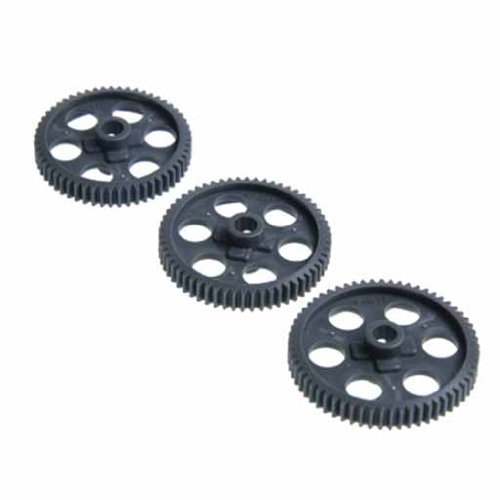 Eagle Model SP Taper spur Gear 55,58,61T (3): Tamiya TT-01 / 01E for 3629