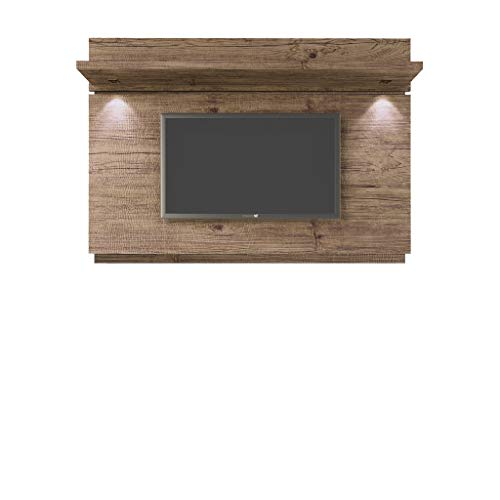 - Manhattan Comfort 81461 81461-MC Park 1.8 Floating Wall TV Panel 71.2x8.4x49.6 Nature