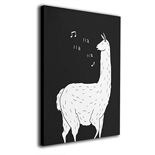 Feim-AO Song of The Llama Canvas Print Wall Art Oil Paintings Ready to Hang 16