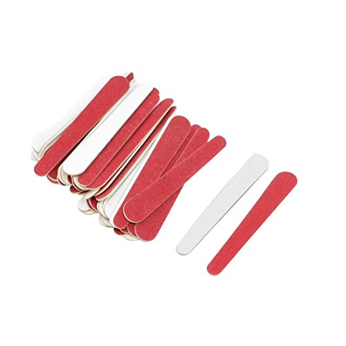 uxcell Red Disposable Professional Fingernail Beauty Care Tr