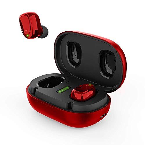 Auriculares Earbuds Inalambricos BNCHI Canc. de Ruido Red