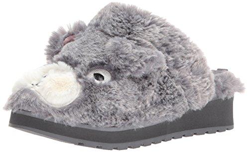 Skechers BOBS Women's Keepsakes High - Pawfection Clog, Gray