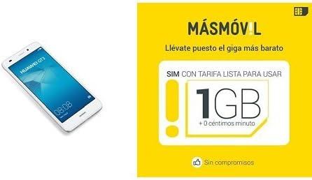 Huawei GT3 - Smartphone libre color plateado + Tarjeta SIM: Amazon ...