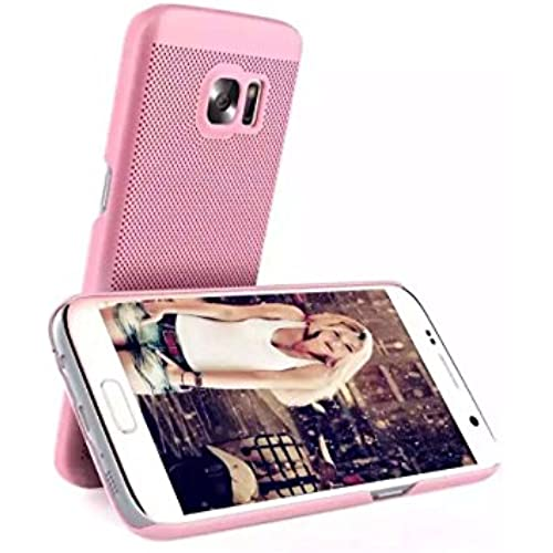Galaxy S7 Edge Case,Ultra-Thin Exact-Fit [Black] Premium PC Hard Case for Samsung Galaxy S7 Edge (Pink) Sales